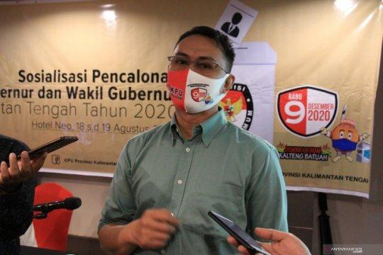 KPU Kalteng batasi jumlah massa saat pendaftaran paslon kepala daerah