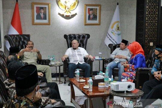 Sepuluh rektor UIN temui pimpinan DPD bahas sulitnya buka prodi