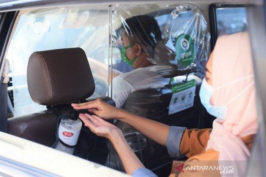 Perkuat J3K, Gojek sedia hand sanitizer Lifebuoy di puluhan ribu GoCar