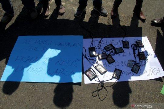 Unjuk rasa kasus pembunuhan wartawan