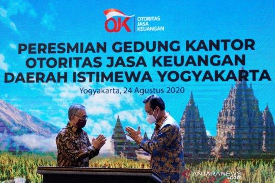 Peresmian gedung baru OJK di Yogyakarta