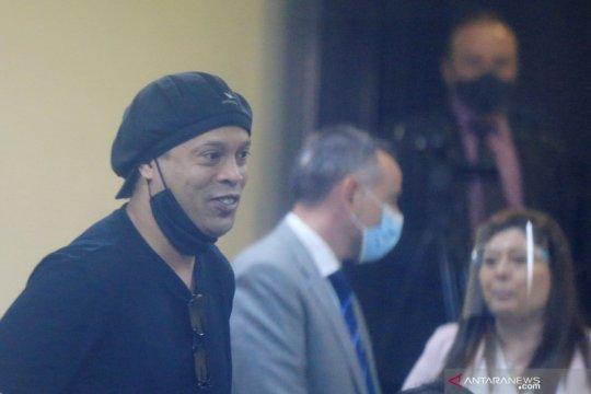 Ronaldinho bebas setelah lima bulan terkurung di Paraguay