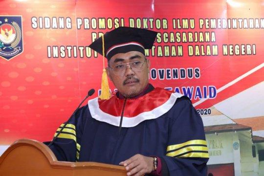 Wakil Ketua MPR Jazilul Fawaid raih gelar doktor llmu pemerintahan