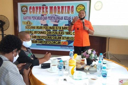 Media dan jurnalis potensi SAR dukung operasi, sebut Basarnas Sorong