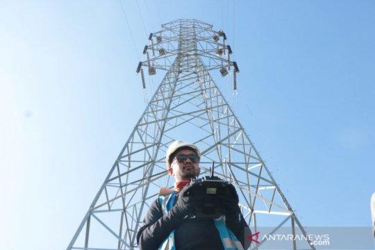 PLN Sulsel optimalkan drone bangun transmisi 150 Kv