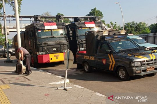 Sejumlah unjuk rasa warnai Jakarta hari ini