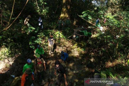 Macan tutul dilepasliarkan di Gunung Sawal Kabupaten Ciamis