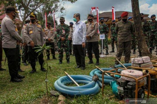 Apel Kesiapsiagaan Karhutla di Riau