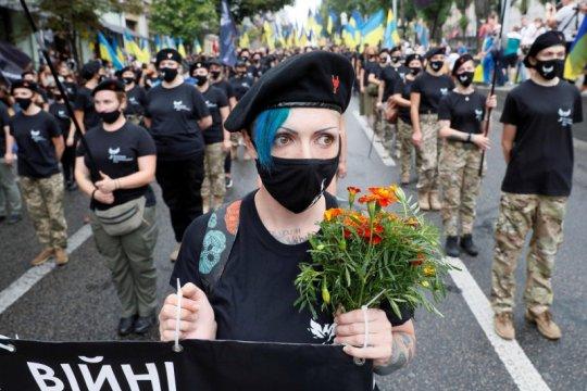 Ukraina catat lebih dari 5.000 kasus baru harian COVID-19