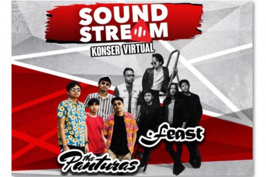 Soundstream episode 3 hadirkan .Feast dan The Panturas