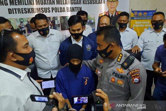 Polda Banten tangkap pelaku penyebaran pornografi anak