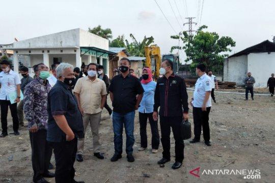 Legislator DKI sidak pembangunan pusat kuliner di Pluit