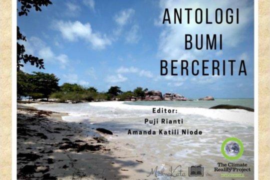 """MaknaKata rilis buku kumpulan puisi """"Antologi Bumi Bercerita"""""""