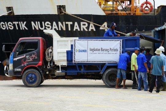 Pemkab Natuna dukung angkutan barang bersubsidi dari Damri