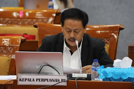 Legislator dukung Perpusnas ajukan anggaran minimal Rp1 triliun