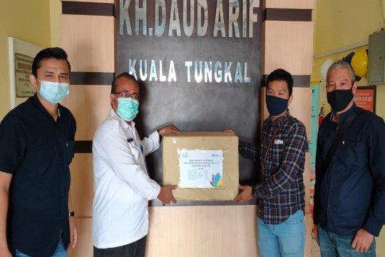 Satgas BUMN Jambi bantu alat kesehatan ke RSUD Daud Arief Kualatungkal