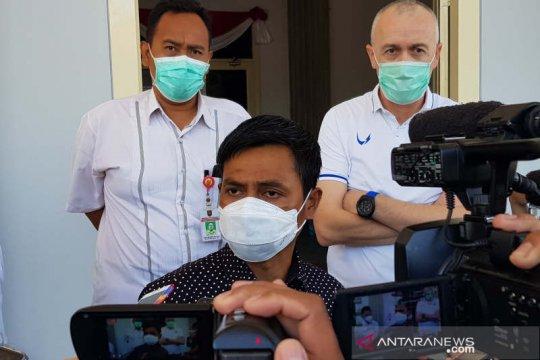 Pemain PSIS jalani tes usap di lobi DPRD Kota Semarang