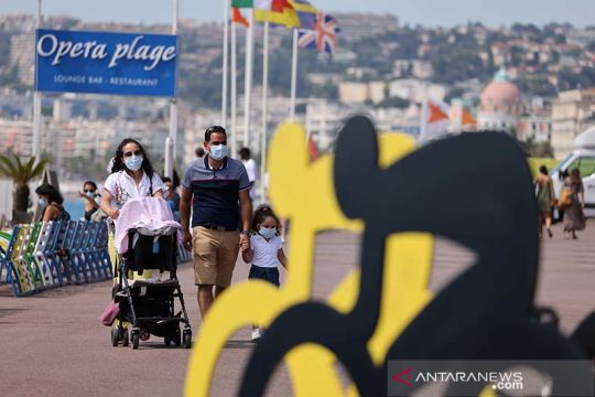 Nice, jelang Tour de France ke 107 di tengah pendemi COVID-19