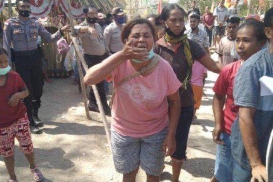 Puluhan warga Besipae tolak kesepakatan dibuat Pemprov NTT
