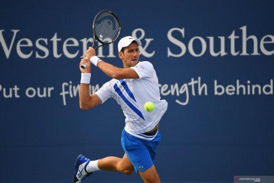Novak Djokovic kalahkan petenis Jerman Jan-Lennard Struff