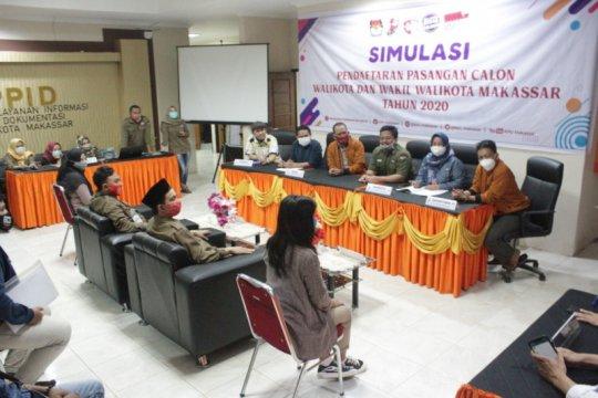 KPU Makassar gelar simulasi jelang pendaftaran kandidat