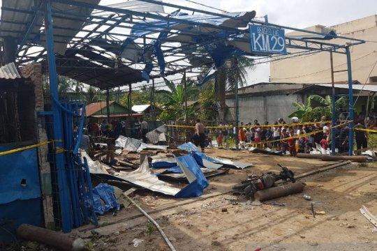 Deli Serdang, ledakan yang diduga dari tabung gas tewaskan empat orang