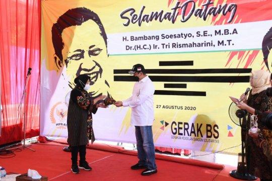 Ketua MPR resmikan 12 nama jalan di Surabaya