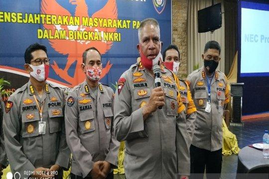 Kapolda Papua  evaluasi kamtibmas pasca pembunuhan  di Kab. Yahukimo