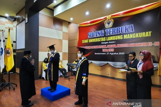 Universitas Lambung Mangkurat gelar wisuda virtual