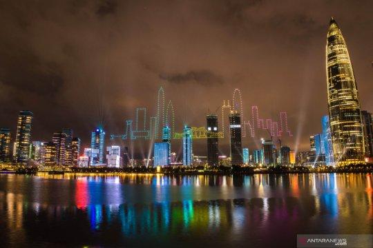 Guncangan gedung pencakar langit di Shenzhen masih misterius