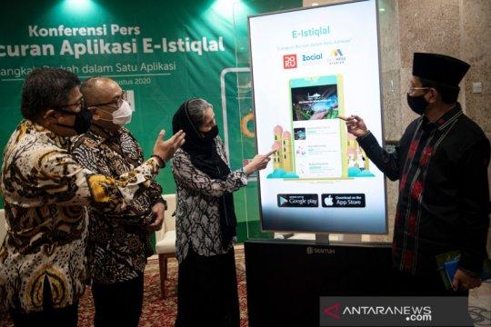 Peluncuran aplikasi E-Istiqlal