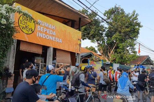 Pemkot Jaksel resmikan Rumah Sepeda Indonesia di Kelurahan Bintaro