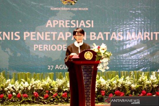 Indonesia tegaskan komitmen tuntaskan batas dengan negara tetangga