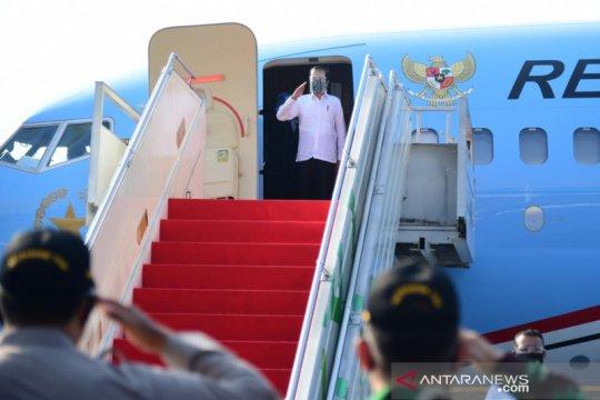 Presiden ke Yogyakarta resmikan YIA dan serahkan banpres