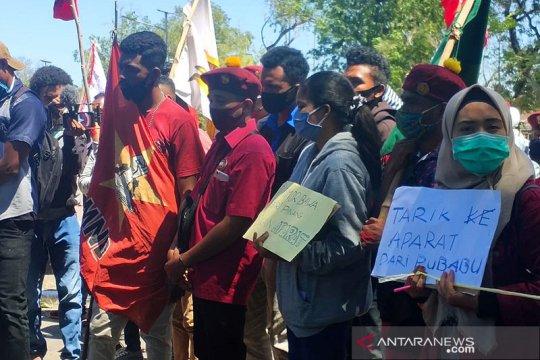 Puluhan warga gelar aksi damai protes penanganan konflik lahan Besipae
