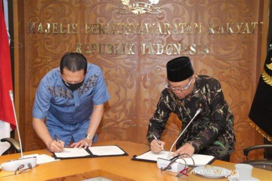 MPR jalin kesepakatan Sosialisasi Empat bersama Universitas Terbuka