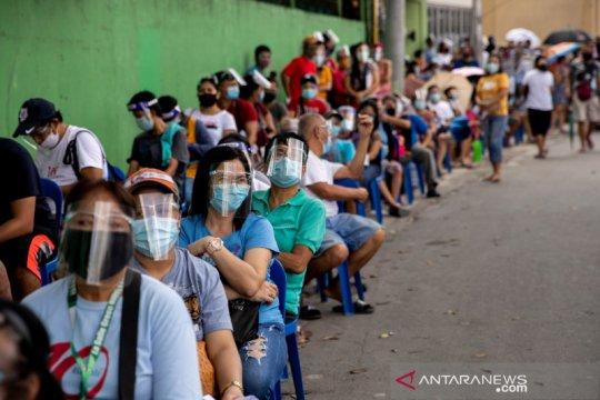 Filipina : 223 polisi lagi positif virus corona