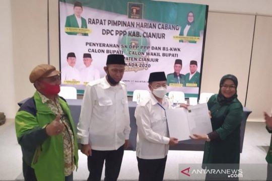 Surat dukungan Partai Persatuan Pembangunan untuk Herman-Mulyana