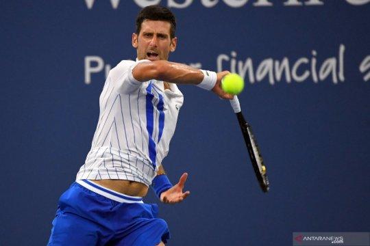 Djokovic melaju ke babak final bertemu petenis Kanada Milos Raonic