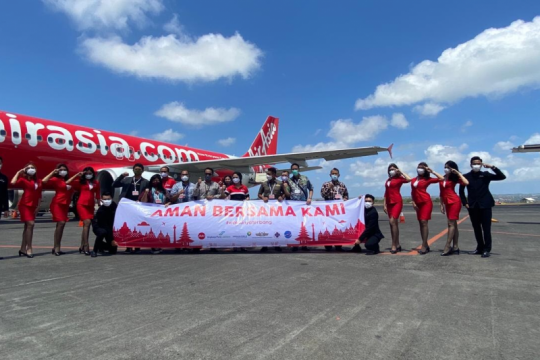 AirAsia ajak masyarakat tak khawatir terbang di masa pandemi