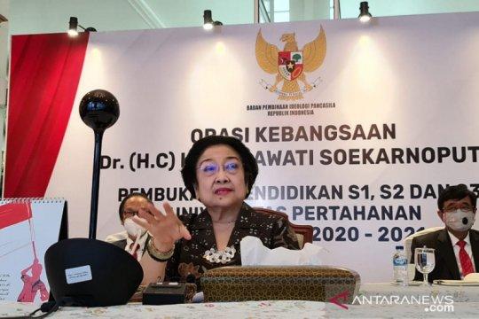 Megawati usulkan kurikulum Unhan sertakan kunjungan ke daerah