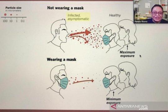 Penggunaan masker dengan benar cara murah kendalikan COVID-19