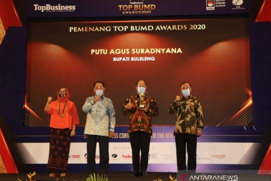Buleleng raih empat penghargaan 'TOP BUMD Award 2020'