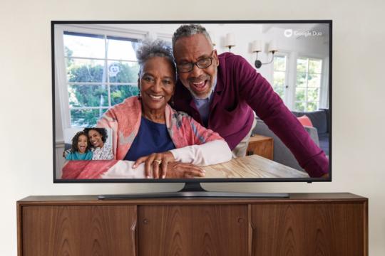 """Google buat """"video call"""" bisa dari TV Android"""