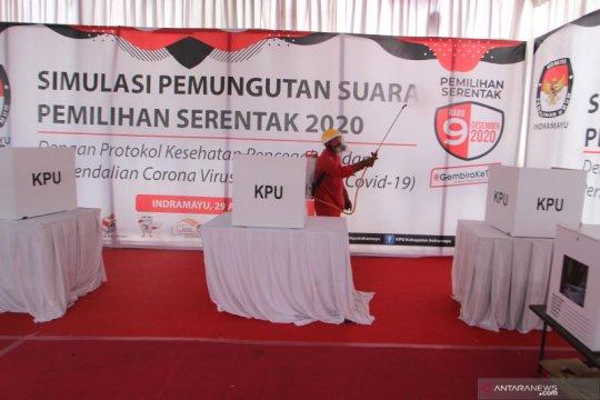 "KPU Indramayu sediakan bilik khusus ""37,3 drajat Celsius"" pada pilkada"