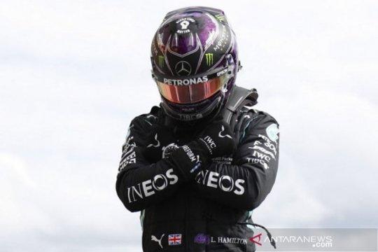 "Hamilton abdikan pole position Belgia untuk ""superhero"" Boseman"
