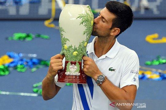 Djokovic juarai Western & Southern setelah taklukkan Raonic
