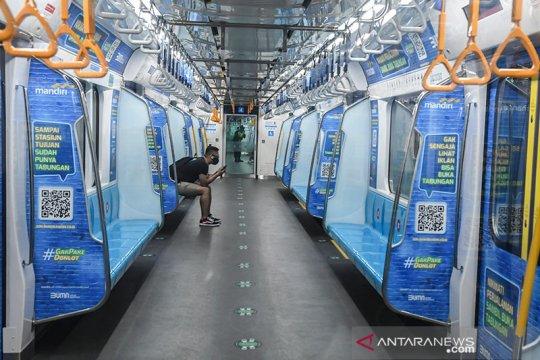 Mulai Senin ini MRT lakukan penyesuaian terkait PSBB  Jakarta