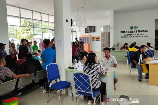 Dua nakes positif, COVID-19 di batas RI-Malaysia meningkat 38 orang