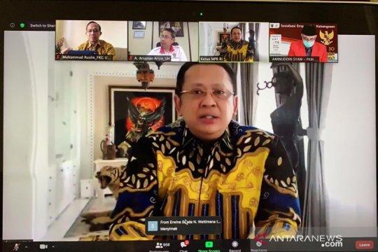 Ketua MPR sosialisasi Empat Pilar Kebangsaan di Dies Natalis Unhas